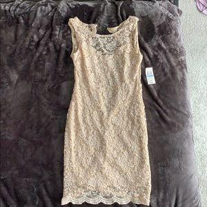 Tan Dress - Size 5/6